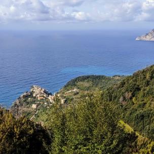 Blick zurück auf Corniglia