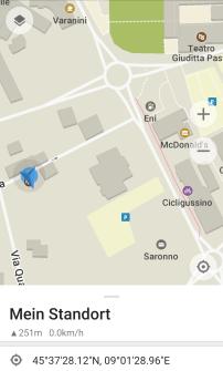 2. Standplatz: Saronno (I)