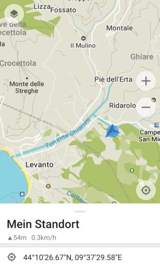 Campingplatz '5Terre'/Levanto