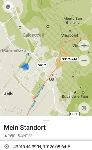 Standplatz San Giuliano Terme