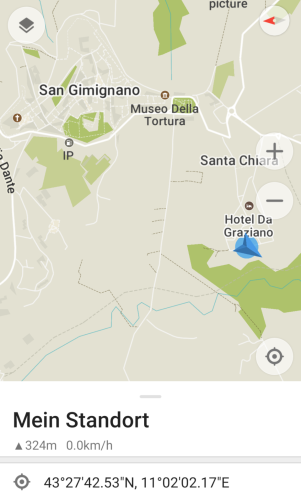 Stellplatz San Gimignano