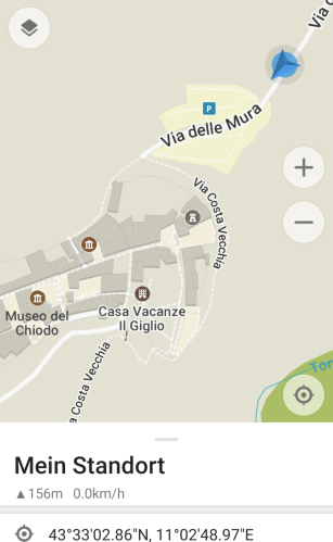 Stellplatz Certaldo Alto