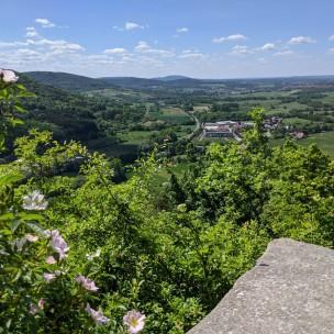Ausblick von Burg Lichtenstein
