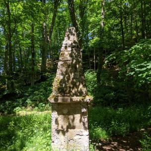 Gedenkstein zu Lichtenstein